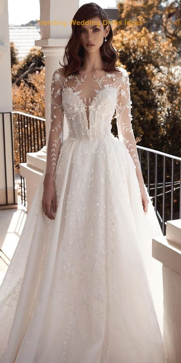24 Bridal Gowns With Sleeves Never Fails To…