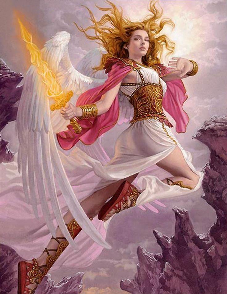 Artist: Unknown - Title: Unknown - Card: Phanuel, Archangel of Dogma