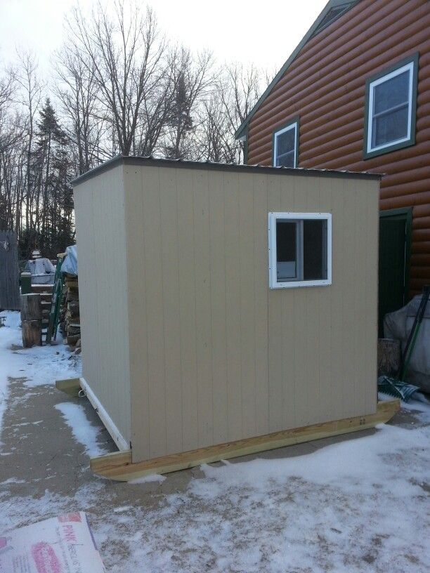 68 best images about ice fishing shack on pinterest ice for Ice fishing shacks