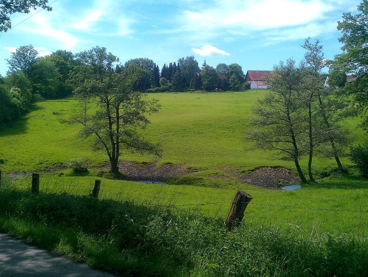 View towards Bachum in Arnsberg,Germany