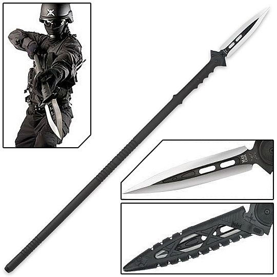 Anti-Personnel Tactical Riot Spear w/ Sheath For the ne0-dark-ages