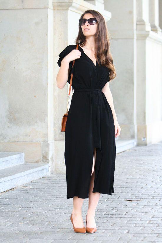 Schwarzes kleid alltagstauglich