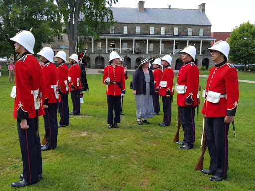 Changing of the Guards in Fredericton - I was the honored guest!. From A photo journey through New Brunswick, Canada