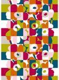 Fabric: Ruutu-Unikko HW cotton fabric | Marimekko
