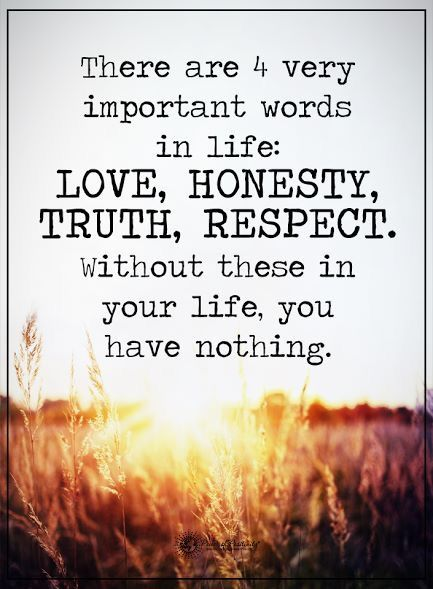 The Importance of Honesty and Trust