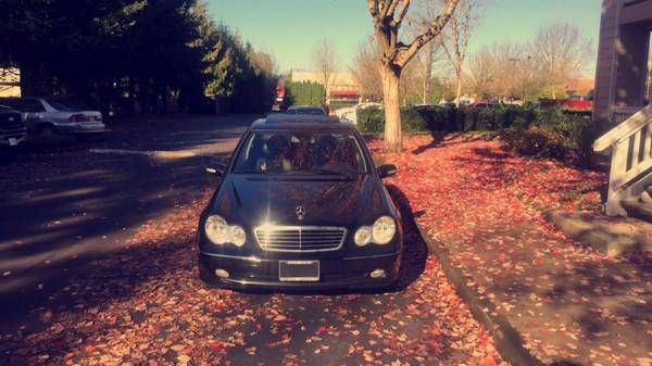2003 Mercedes kompressor 6 speed manual