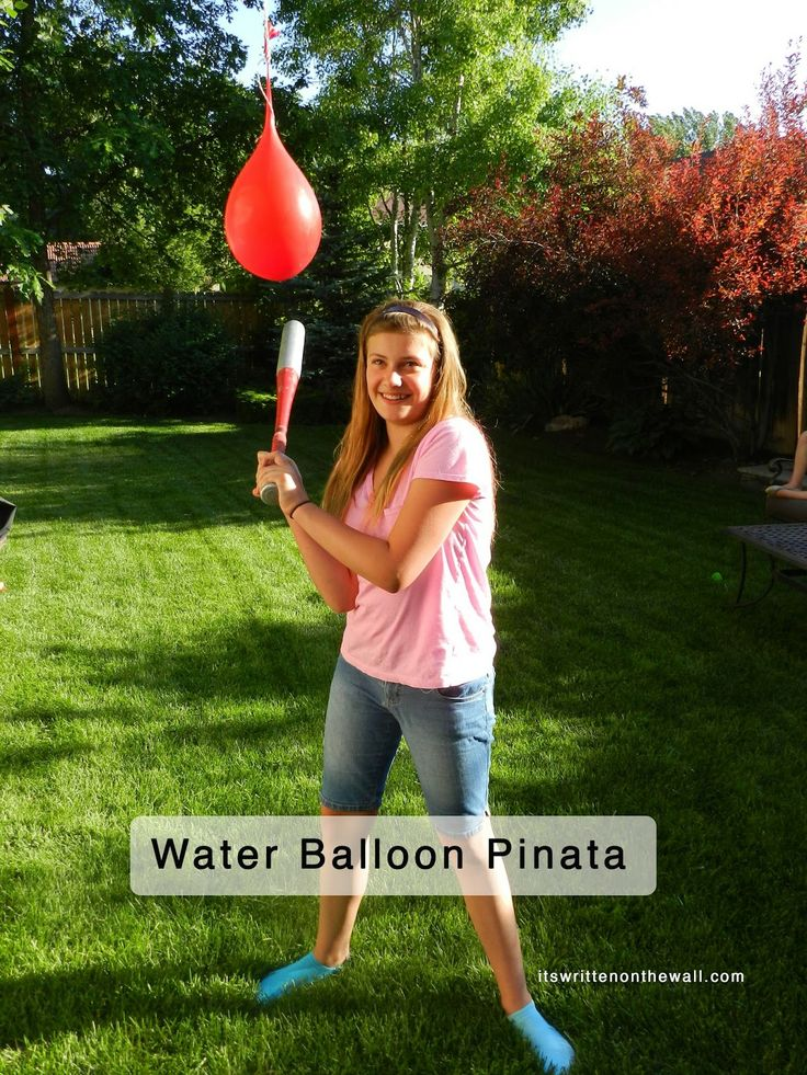 30 best balloon games images on pinterest kid games for Balloon party games