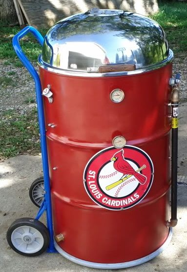 Ugly Drum Smokers (UDS) are made from repurposed 55 gallon drums. These drums are sandblasted clean and repainted with a high temperature...