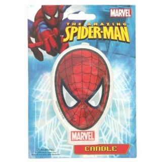SPIDERMAN CLASSIC FACE FLAT CANDLE
