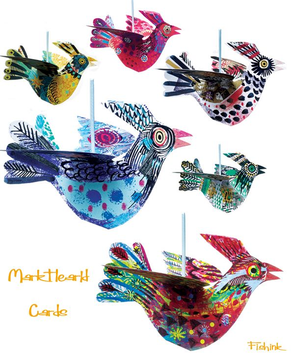 Mark Hearld Cards from Fishink