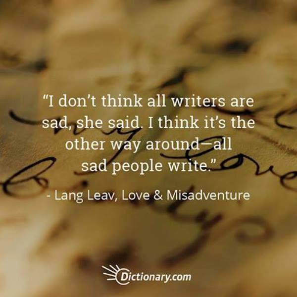 Quotable – Lang Leav - Writers Write