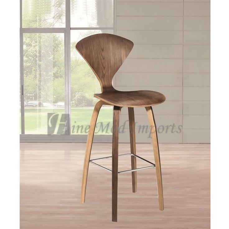 Norman cherner style bar stool beach house pinterest - Norman cherner barstool ...