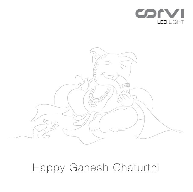 Team Corvi wishes you and your family a very happy #GaneshChaturthi