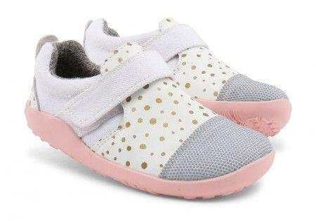 Bobux I-walk Play Aktiv White Shoes - Bobux - Little Wanderers