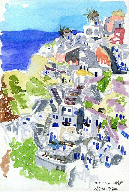 [13 - 예약중] 이아마을 언덕, 그리스 산토리니 | Flickr - 사진 공유!