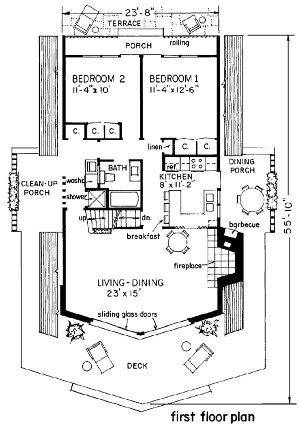 51 best AFrame House Plans images – Lake House Cabin Floor Plans