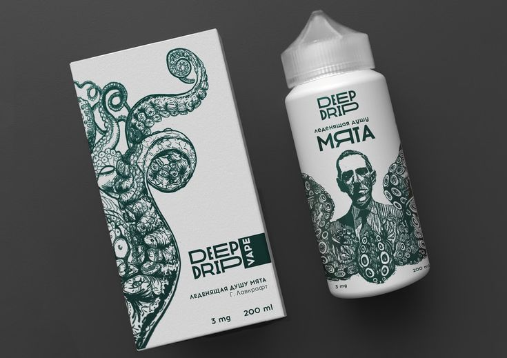 Deep Drip on Packaging of the World - Creative Package Design Gallery