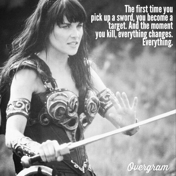 Xena Quotes About Love : ... Xena and cast tv show on Pinterest Seasons, Hercules and Xena