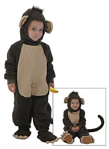 Toddler Monkey Costume photo
