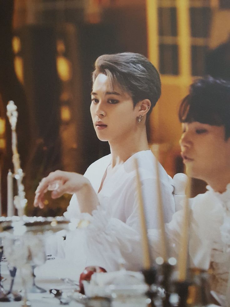 i'm suga in the background trying to get food while no one's looking and jimin's my better looking cousin