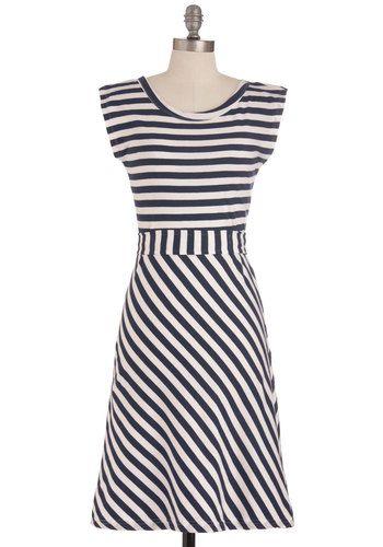 Riviera Romance Dress in Navy