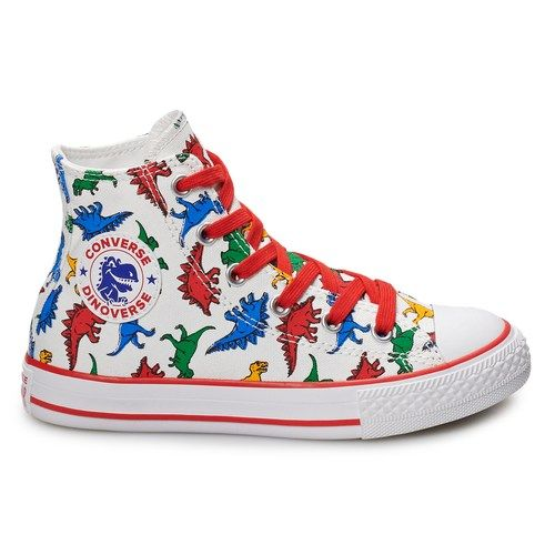 33e3abdb2e6195 Boys  Converse Chuck Taylor All Star Dino High Top Shoes