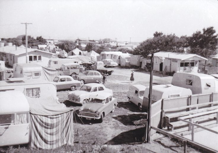 Cosy Corner Holiday Park, Mt Maunganui,NZ 1957 - first year of operation