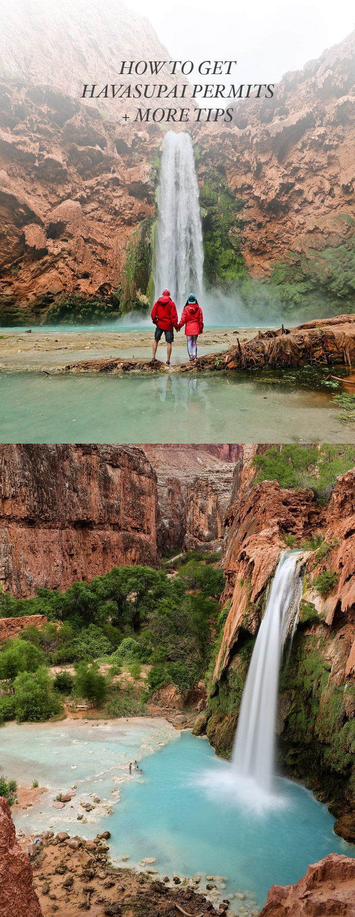 How to Get Havasupai Falls Reservations / Permits + More Tips For Your Hike // localadventurer.com