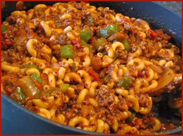 American Chop Suey, I hate that name, but this looks like a decent ...