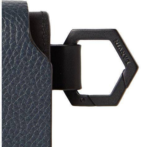 Lanvin Grained-Leather Cardholder