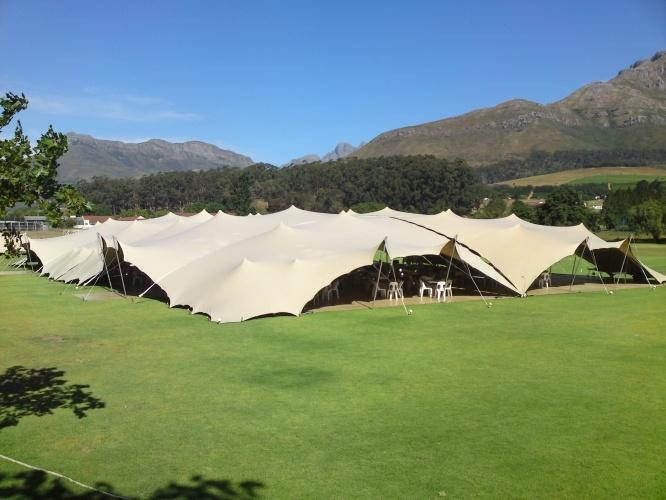 Nomadik Stretch Tents: Paul Roos Gymnasium