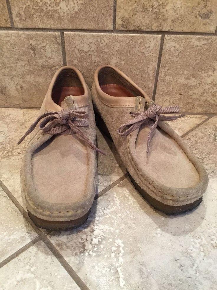 Women's Clarks 35395 ORIGINALS Wallabee in Sand Dessert Suede Shoes 7M  | eBay