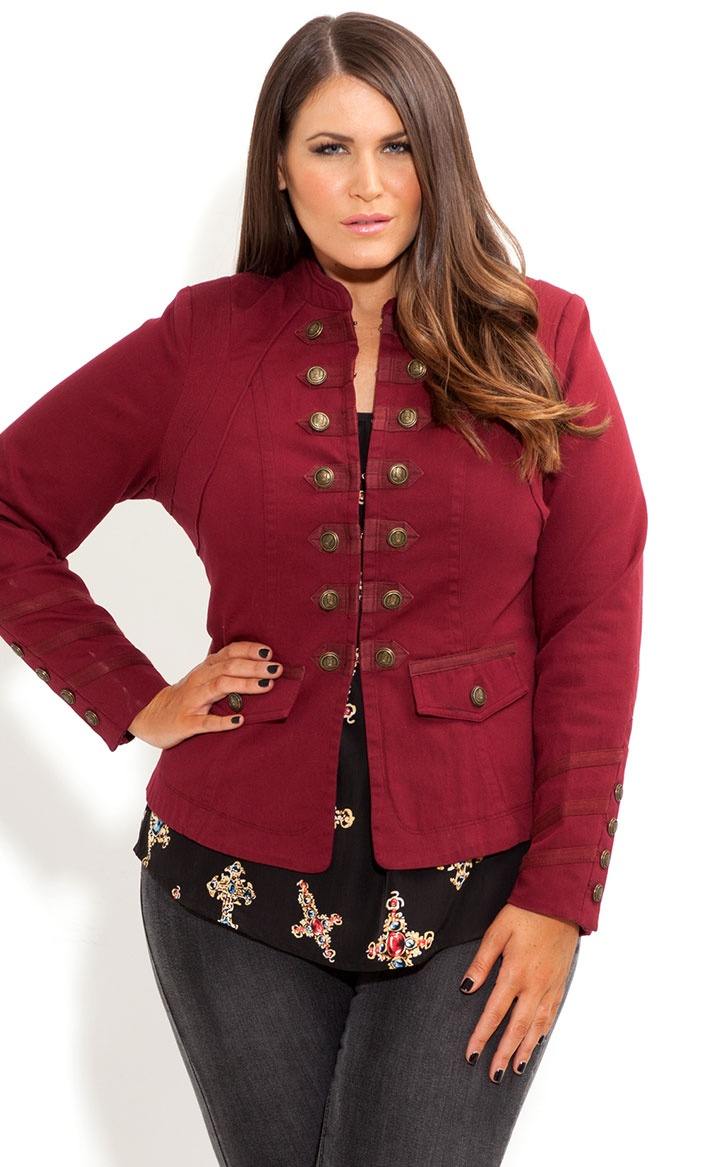 62 best images about Military Fashion: Plus Size Edition on ...