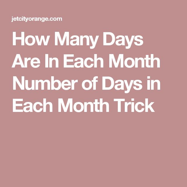 25 best ideas about days in each month on pinterest days in a month months in a year and. Black Bedroom Furniture Sets. Home Design Ideas