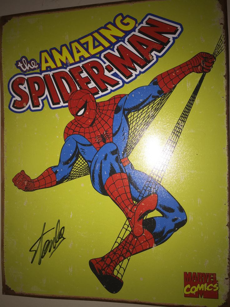 I got Stan Lee to sign this at Dragon Con last year it's honestly my favorite thing that I own.