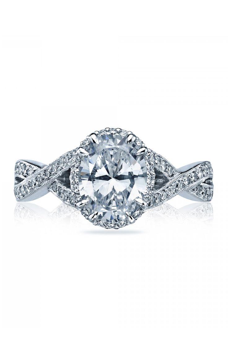 Sophisticated, elegant, and modern.  #Tacori #engagement #ring