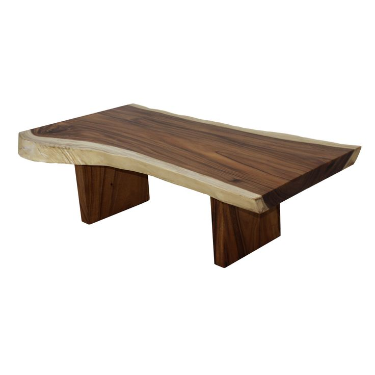 Image Result For Live Edge Teak Coffee Table