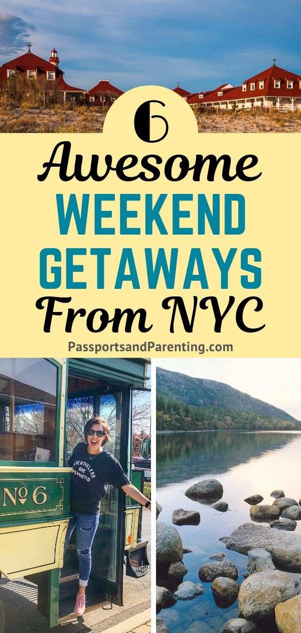 6 Awesome Long Weekend Getaways From Nyc Weekend Getaways From Nyc Long Weekend Getaways Weekend Family Getaways