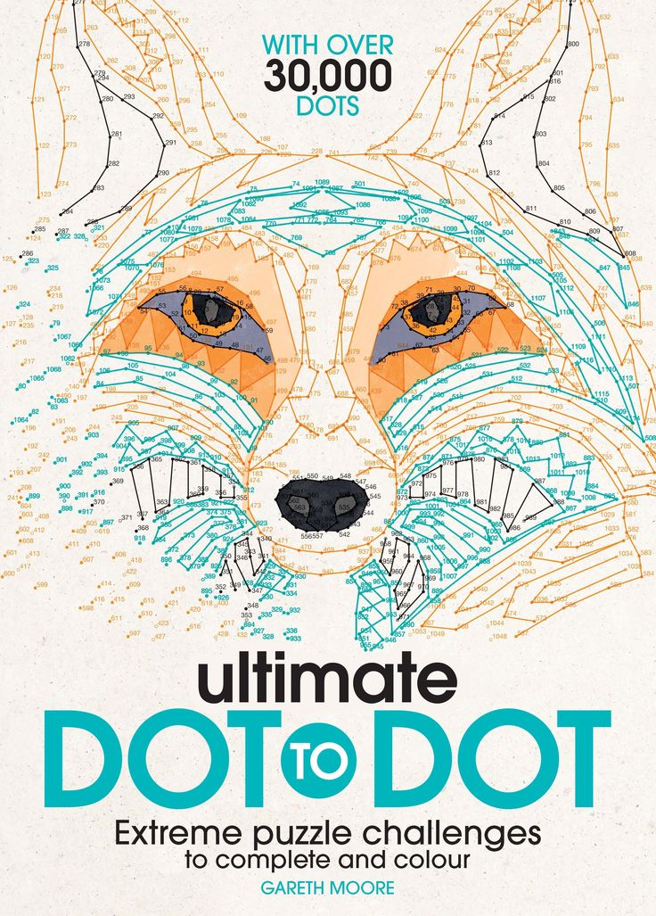 The Ultimate Dot-to-Dot by Dr. Gareth Moore contains 30 challenging dot-to-dots and over 30,000 dots. It will entertain and engage puzzlers for hours on end as each puzzle gradually reveals intricate animals, objects and scenes. Incredible interior scenes range from iconic architecture and Aztec patterns, to ornate ornaments and intricate animals, there's something for art lovers and puzzle enthusiasts alike in this wonderful collection.