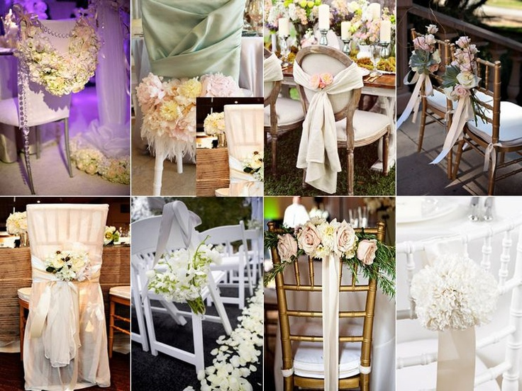 chair decoration for wedding 17 best chair decor images on wedding chairs 2534