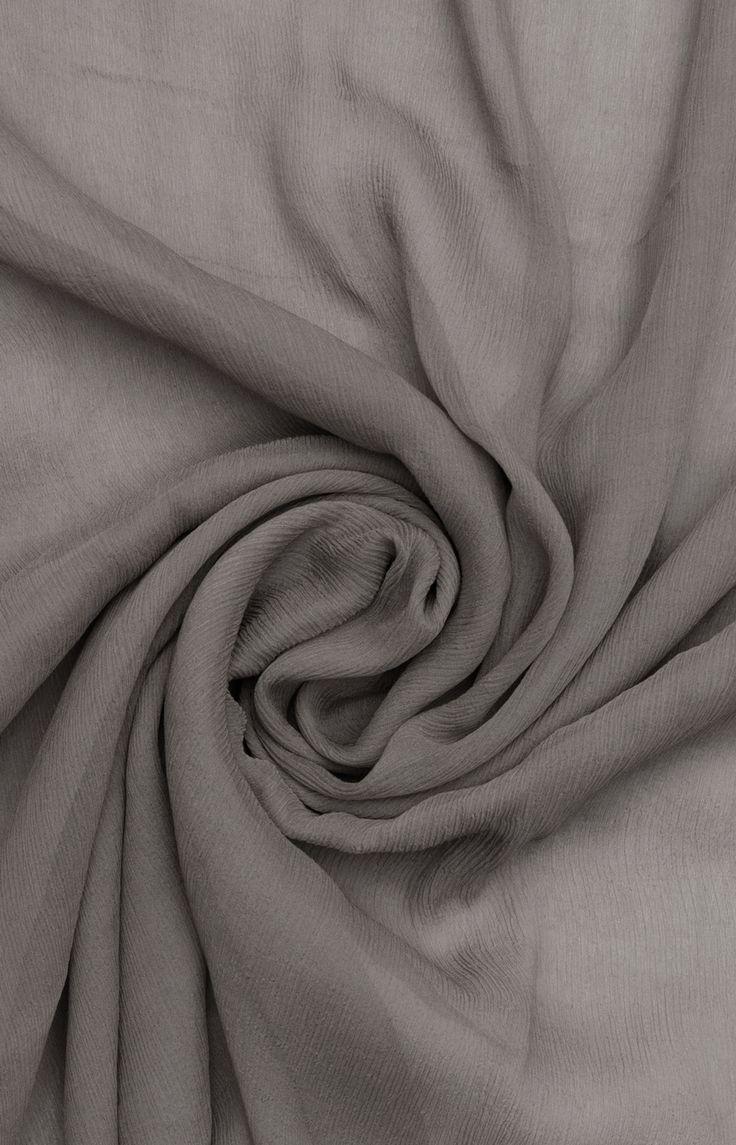 Winter Vapour Chiffon Silk Hijab