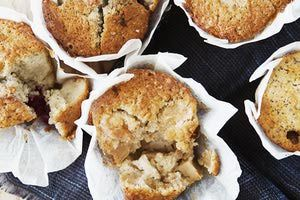 Board of apple muffins - Cultura/Line Klein/Riser/Getty Images