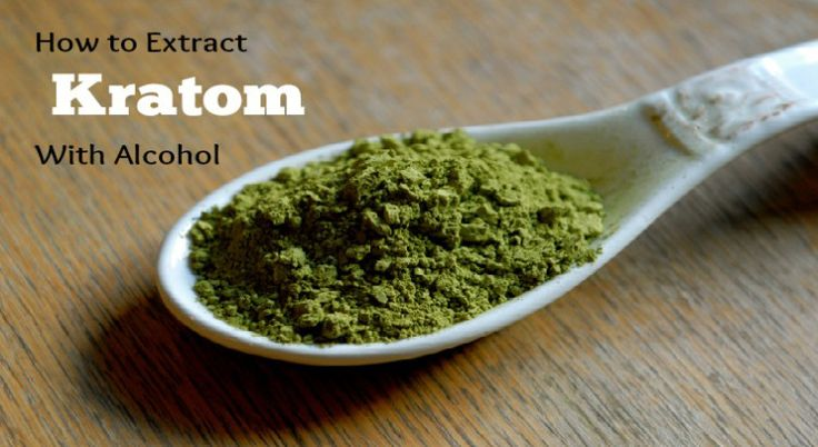 Full guide on how to make #kratom #extract with #alcohol.