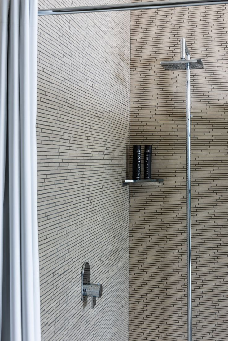 Inspiration from our showroom in Fiorano. Fratelli Fantini shower system. #fratellifantini