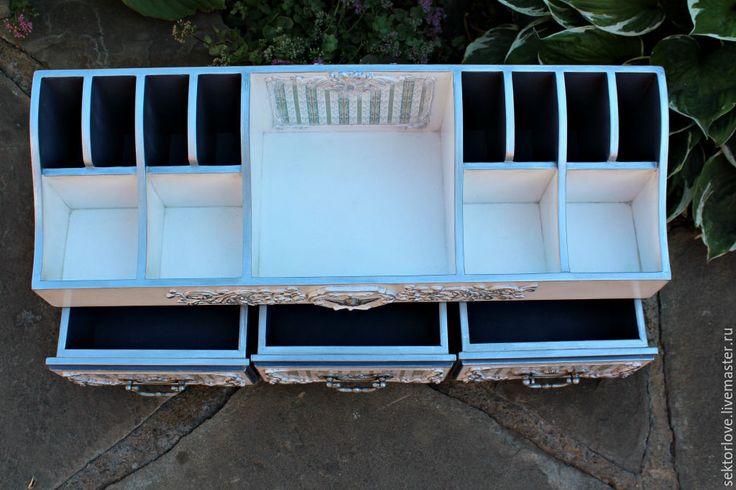 Купить Большой комод органайзер для косметики и др.. - белый, комод, комодик, комодик для украшений
