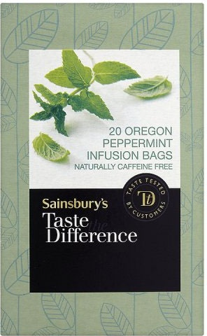 Sainsbury's Taste the Difference Peppermint Infusions (20 per pack - 40g)