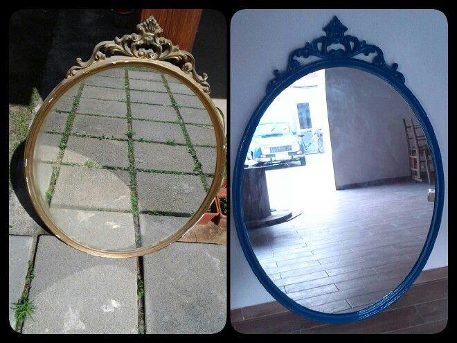 Specchio datato...diventato chic ♥