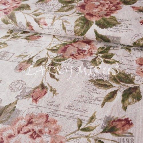 č.2271 květy s písmem