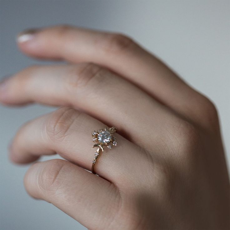 """I've never seen a mor intricate, delicate ring! """"Wandering Star"""""""