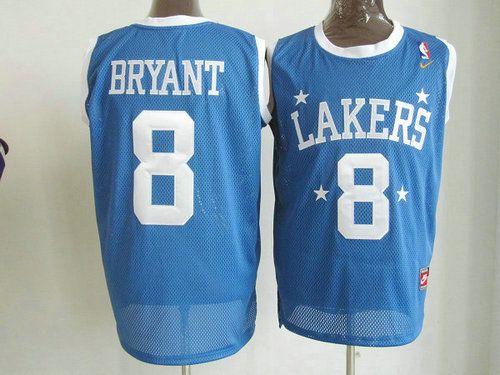Los Angeles Lakers Kobe Bryant #8 Swingman Jersey Blue-Ortbel.com